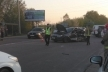 У передмісті Івано-Франківська автомобіль врізався в маршрутку: є загиблий
