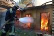 На Прикарпатті горіла стайня, літня кухня та стодола