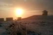 У мережі показали неймовірні фото світанку із засніженої гори Піп Іван (Фото)