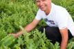 На Прикарпатті фермер вирощує велетенські кавуни
