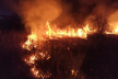 На Долинщині чоловік підпалив суху траву: рятувальники його спіймали