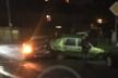 Нічна ДТП у Франківську: П'яний водій наїхав на пішохода та влетів у припарковані авто