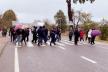 На Калущині громада перекрила рух транспорту