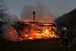 На Прикарпатті трапилась пожежа: згорів дерев'яний житловий будинок