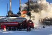 Пожежа у Калуші: горів завод Карпатнафтохім (Фото)