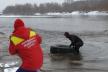 Безпечне Водохреща: у Франківську надзвичайники обстежили місця для купання (Фото)
