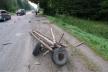 На Надвірнянщині автівка влетіла у фіру
