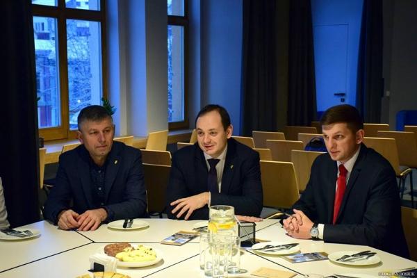 Марцінків провів бізнес-сніданок з франківськими рестораторами