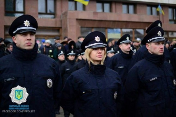 Командир батальйону Ірина Зелінська йде з патрульної поліції Івано-Франківська (Фото)
