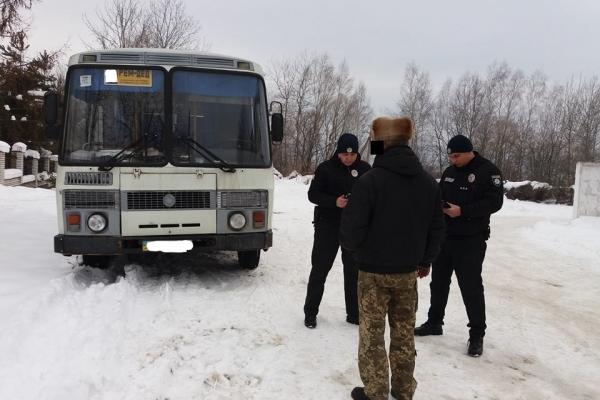 На Прикарпатті п'яний водій маршрутки сплатить понад 10 тисяч гривень штрафу