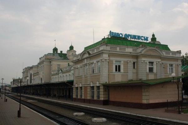Івано-Франківськ - Костянтинівка – потяг №1 «Укрзалізниці»