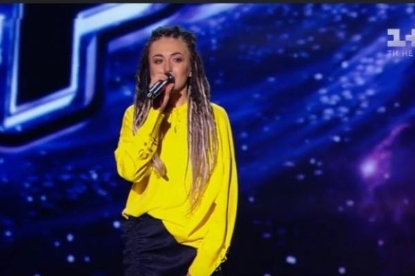 Дівчина з Прикарпаття виступила у шоу «Голос країни»