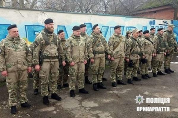 Прикарпатські правоохоронці поїхали у чергове відрядження на Донеччину
