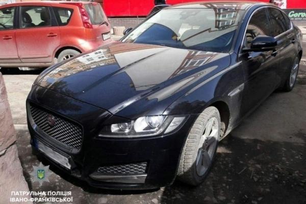 У Франківську патрульні знайшли «Jaguar», який розшукує Інтерпол