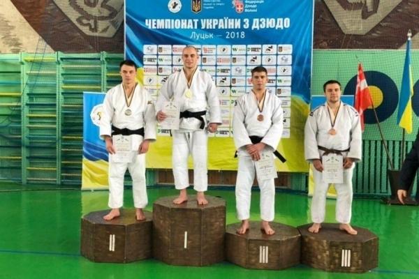 Дзюдоїст з Франківська посів друге місце на чемпіонаті України серед юніорів