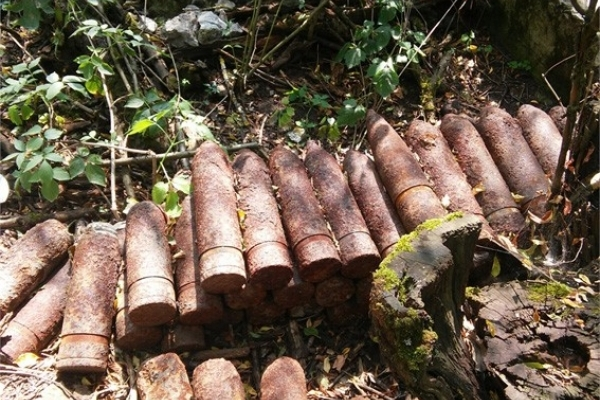 За п'ять днів на Прикарпатті виявили 705 боєприпасів часів ІІ Світової війни