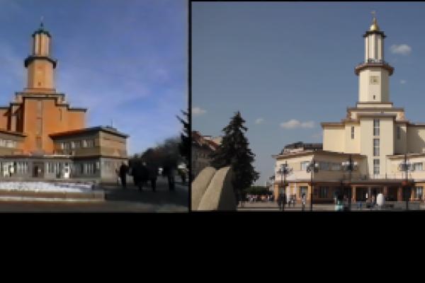 Франківськ.10 років різниці: відеопорівняння, як змінилося місто за 10 років (Відео)