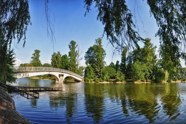 У Франківську призупинили реконструкцію міського озера (Відео)