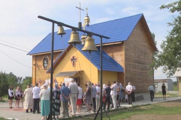 На Прикарпатті церковні дзвони назвали чоловічими іменами (Відео)