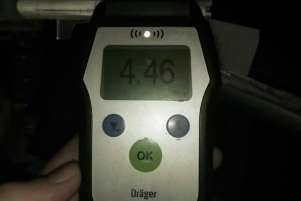 У Франківську спіймали водія із 4,46 проміле алкоголю