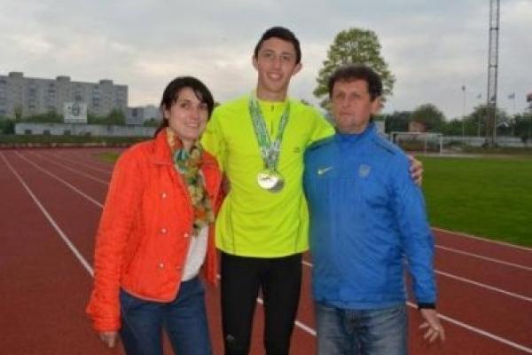 Прикарпатець став срібним призером чемпіонату України серед юніорів