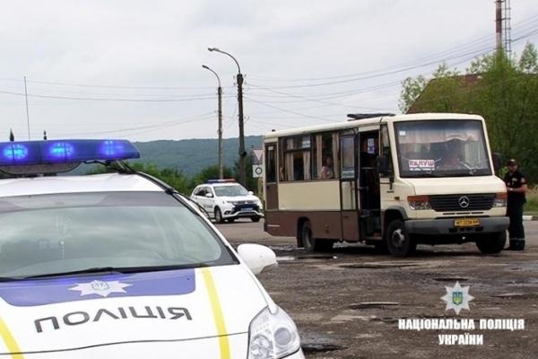 На Прикарпатті перевіряють перевізників: за тиждень виявили 12 несправних автобусів та п'яного водія