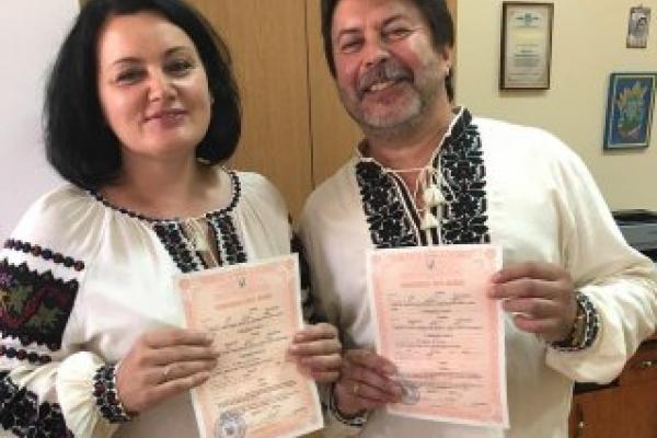 Службовий роман франківських посадовців завершився весіллям (Фото)