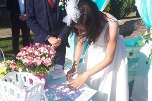 Кохання не має кордонів: У Франківську одружилися українка та норвежець