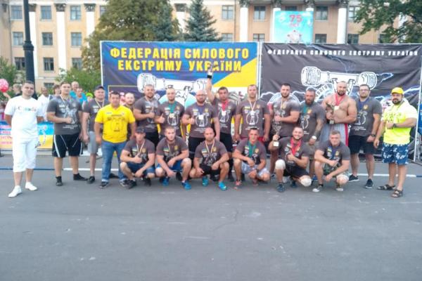 Прикарпатець посів четверте місце у змаганнях України по силовому екстриму