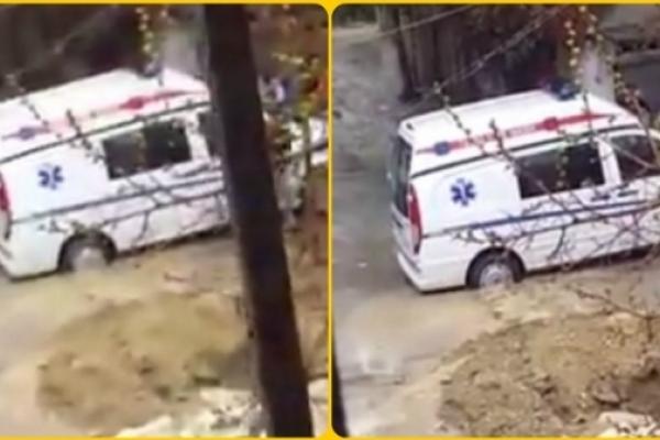 На Івано-Франківщині машина невідкладної допомоги опинилася у ріці