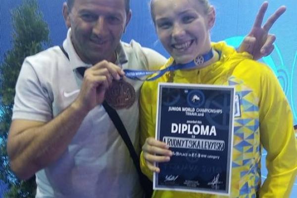 Прикарпатська борчиня здобула бронзову медаль чемпіонату світу