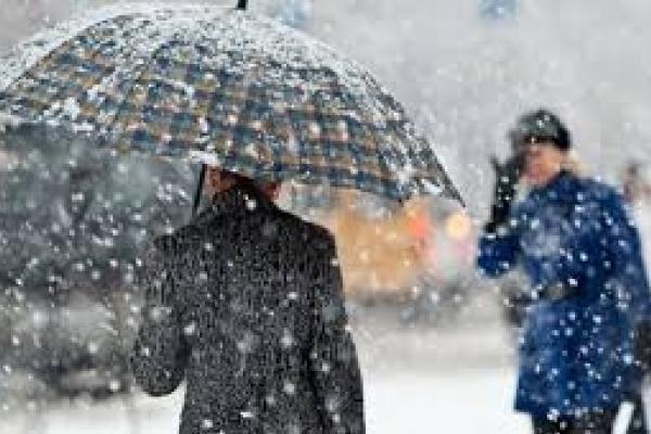 На Прикарпатті очікується мокрий сніг
