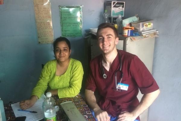 Студент-медик із Франківська волонтерив в Індії (Фото)