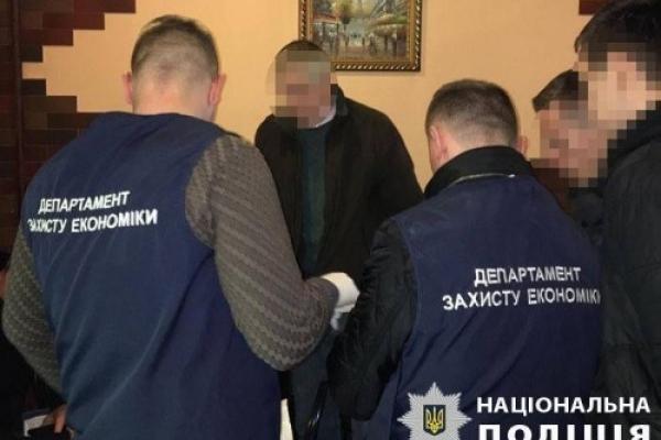 У Франківську на хабарі затримали керівника підприємства
