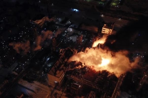 Пожежа на хімзаводі у Калуші: стали відомі результати аналізу повітря