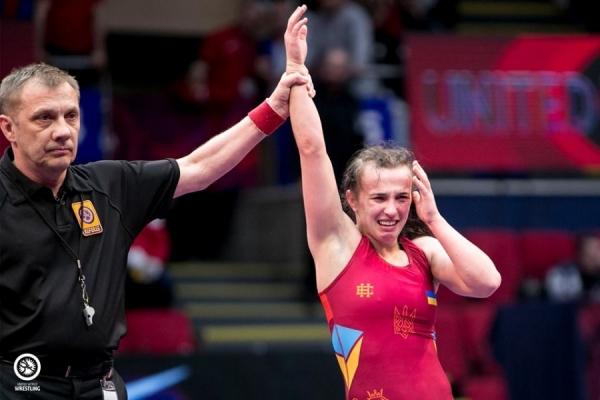 Оксана Лівач із Долини — чемпіонка Європи з вільної боротьби (Відео)