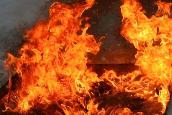 На Івано-Франківщині під час пожежі постраждав чоловік