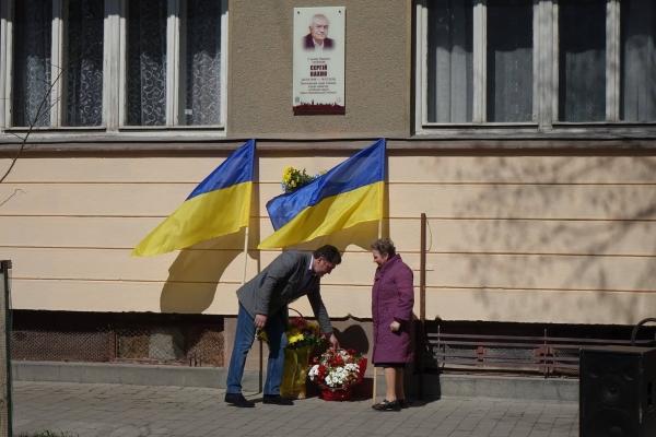 У Франківську на фасаді будинку встановили пам'ятну дошку відомому хірургу
