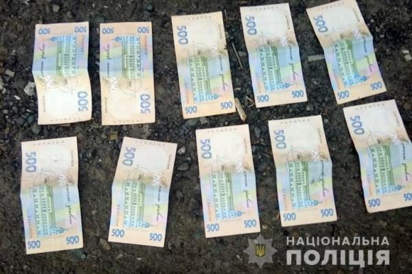 Прикарпатські поліцейські затримали посадовця за вимагання неправомірної вигоди