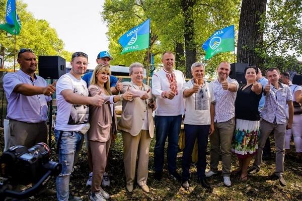 Лідер Аграрної партії Михайло Поплавський став почесним гостем фестивалю «Відродження українського села»