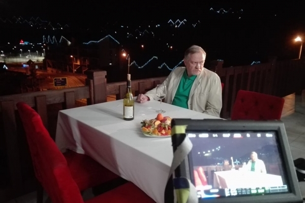 На Прикарпатті тривають зйомки українського кінотрилера з драматичним сюжетом (Фото)