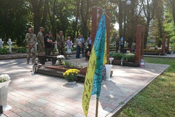 У Франківську пройшов Марш нескорених - ветерани АТО вшанували загиблих побратимів (Фото)