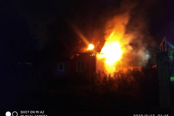 На Долинщині у вогні загинув 33-річний чоловік