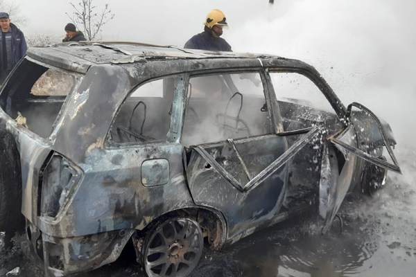 Помер ексголова «Солотвинського лісгоспу», якого витягли з палаючої машини (Фото)