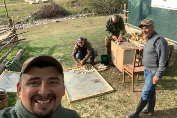 Ветерани АТО пропонують сушені гриби до різдвяного столу (Фото)