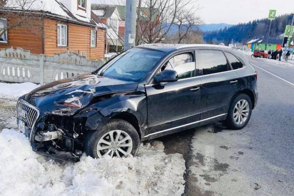 В Татарові п'яний франківець на Audi врізався в Рassat (Фото)