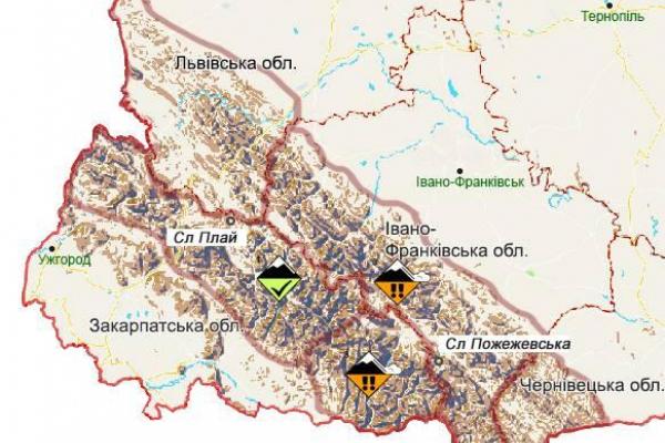 Сніг і шквали вітру: на Прикарпатті оголосили штормове попередження (Фото)