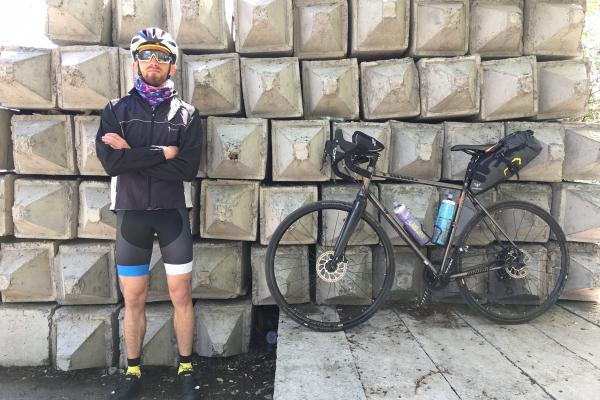 Прикарпатець за три дні проїхав велосипедом з Києва до Франківська