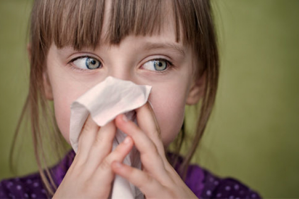 На Прикарпатті значно зросла захворюваність на грип і ГРВІ серед дітей