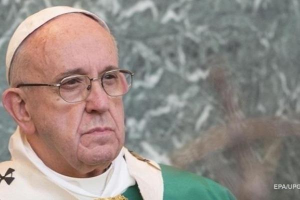 Папа Римський назвав секс і хорошу їжу задоволеннями від Бога